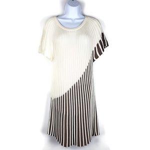 Iman Knit Womens Ribbed Knit Dress  1X EBW622